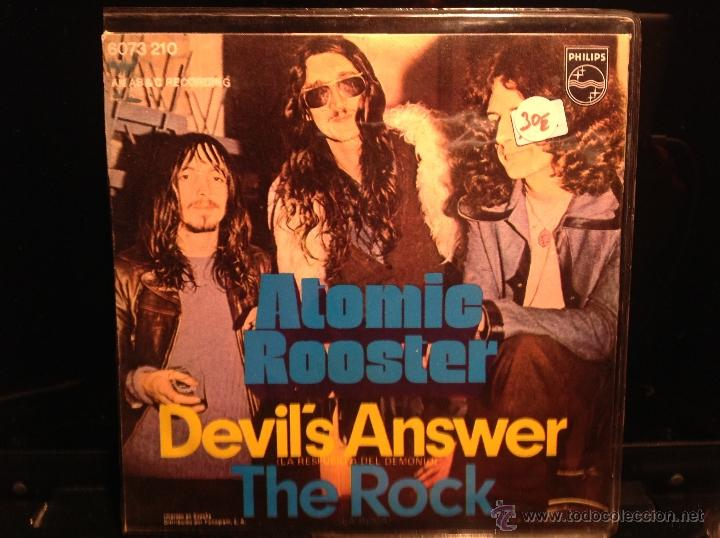 Discos de vinilo: ATOMIC ROOSTER sg. Devil´s answer + the rock - Foto 2 - 50004003