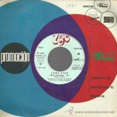 Disques de vinyle: LONE STAR SINGLE SELLO EKIPO AÑO 1973 EDITADO EN ESPAÑA (PROMOCIONAL) EL MISMO TEMA EN LAS 2 CARAS. Lote 50007030