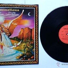 Discos de vinilo: DEVADIP CARLOS SANTANA & TURIYA ALICE COLTRANE - ILLUMINATIONS (1974). Lote 50023704