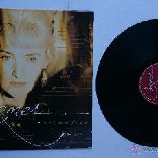 Discos de vinilo: CARMEL - SET ME FREE (1989). Lote 50024037