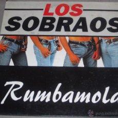 Discos de vinilo: LOS SOBRAOS - RUMBAMOLA - KONGA MUSIC - 1996 - MADE IN SPAIN - IB -. Lote 50024768