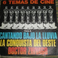 Discos de vinilo: 6 TEMAS DE CINE EP - ORIGINAL ESPAÑOL - POLYDOR RECORDS 1980 - STEREO - . Lote 50026601