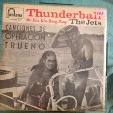 Discos de vinilo: THE JETS + RAY WALSTON EP MARY POPPINS + THUNDERBALL. Lote 50028686