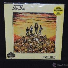 Discos de vinilo: SAMSON - SURVIVORS - LP. Lote 50032537