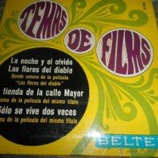 Discos de vinilo: TEMAS DE FILMS EP - ORIGINAL ESPAÑOL - BELTER RECORDS 1967 -MONOAURAL -. Lote 50036331