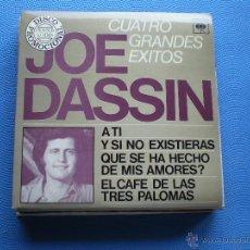 Discos de vinilo: JOE DASSIN CUATRO GRANDES EXITOS EP SPAIN 1979 PDELUXE. Lote 50038058