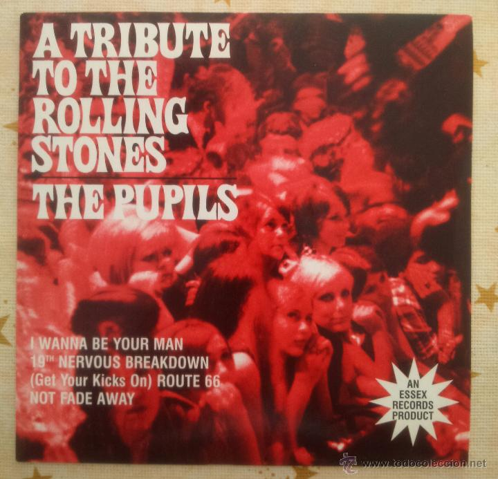 THE PUPILS A TRIBUTE TO THE ROLLING STONES THE EYES REEDICIÓN 1997 R&B MOD POP (Música - Discos - Singles Vinilo - Pop - Rock Extranjero de los 50 y 60)