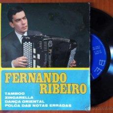Discos de vinilo: FERNANDO RIBEIRO, TAMBOO +3 (BELTER 1967) SINGLE EP ESPAÑA, ZINGARELLA DANÇA ORIENTAL POLCA DAS NOTA. Lote 50038939