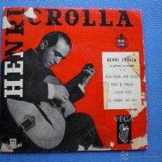 Discos de vinilo: HENRI CROLLA MON HOMME MON GIGOLO , POLVO DE ESTRELLAS , SONNY BOY+1 EP HISPAVOX. Lote 50040833