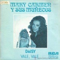 Discos de vinilo: MARY CARMEN Y SUS MUÑECOS SINGLE SELLO RCA VICTOR AÑO 1974 EDITADO EN ESPAÑA . Lote 50043841