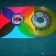 Discos de vinilo: DISCO ZAFIRO/NOVOLA FELIZ AÑO 1968 COLOR AMARILLO CON CARPETA ESPECIAL, RARO. Lote 50044110