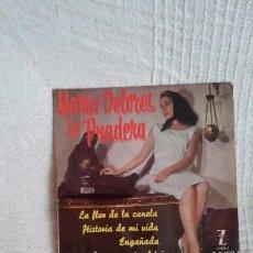 Discos de vinilo: MARIA DOLORES PRADERA-LA FLOR DE LA CANELA+3. Lote 50045071