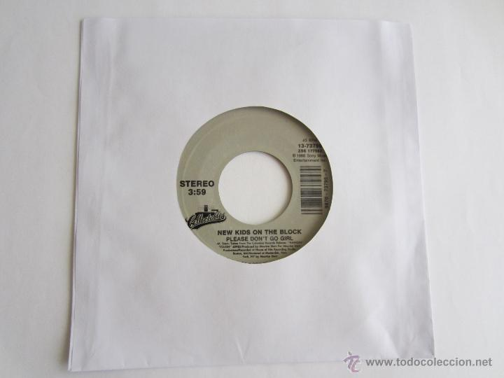 NEW KIDS ON THE BLOCK (NKOB) - PLEASE DON'T GO GIRL 1988 USA SINGLE (Música - Discos de Vinilo - Singles - Pop - Rock Internacional de los 80)
