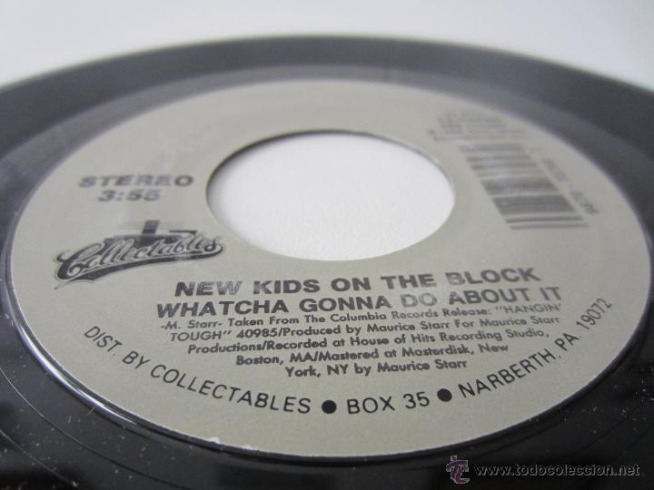 Discos de vinilo: NEW KIDS ON THE BLOCK (NKOB) - PLEASE DONT GO GIRL 1988 USA SINGLE - Foto 4 - 47877077