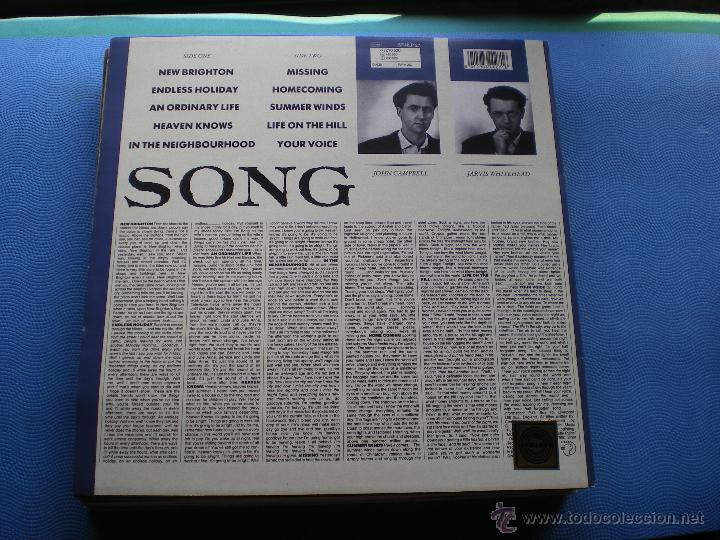 Discos de vinilo: IT´S IMMATERIAL SONG LP UK 1990 PDELUXE - Foto 2 - 50054160