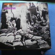 Discos de vinilo: AGUAVIVA APOCALIPSIS LP SPAIN 1972 GATEFOLD PDELUXE. Lote 50054782
