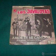 Discos de vinilo: LOS JAVALOYAS, AMOR ES MI CANCION. EMI 1967. Lote 50056582