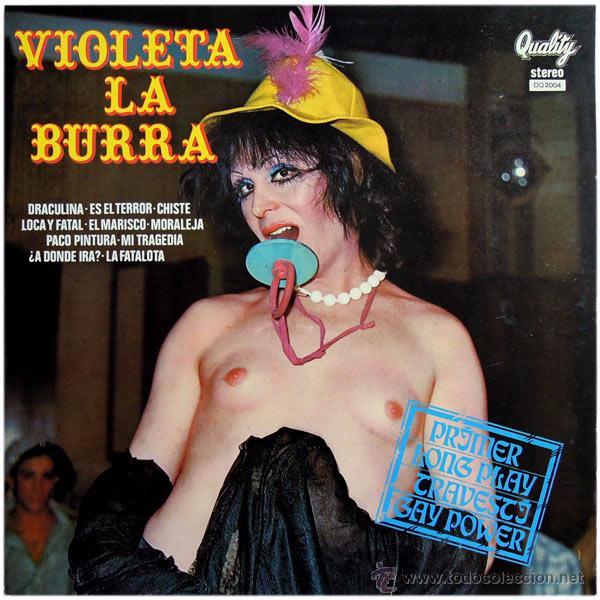 VIOLETA LA BURRA Y ORQUESTA LOS NABOS - LP SPAIN 1978 - QUALITY DQ 2004 (Música - Discos - LP Vinilo - Otros estilos)