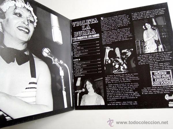 Discos de vinilo: Violeta La Burra Y Orquesta Los Nabos - LP Spain 1978 - Quality DQ 2004 - Foto 5 - 50058715
