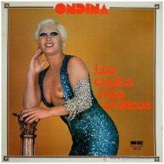 Discos de vinilo: ONDINA - LOS CUPLÉS MÁS ERÓTICOS - LP SPAIN 1977 - DB BELTER DBL-052. Lote 50058895