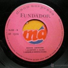 Discos de vinilo: FUNDADOR EP NUEVAS AMISTADES 1971 VER FOTOS TITULOS. Lote 50059757