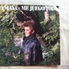 Discos de vinilo: 7 SINGLE-AMAYA-ME JUEGO TODO. Lote 50060691