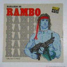Discos de vinil: HABLANDO DE RAMBO. MAXI-SINGLE. TDKDA13. Lote 50060717