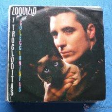 Discos de vinilo: LOQUILLO Y LOS TROGLODITAS COLECCIONISTAS SINGLE SPAIN 1987 PDELUXE. Lote 50063952