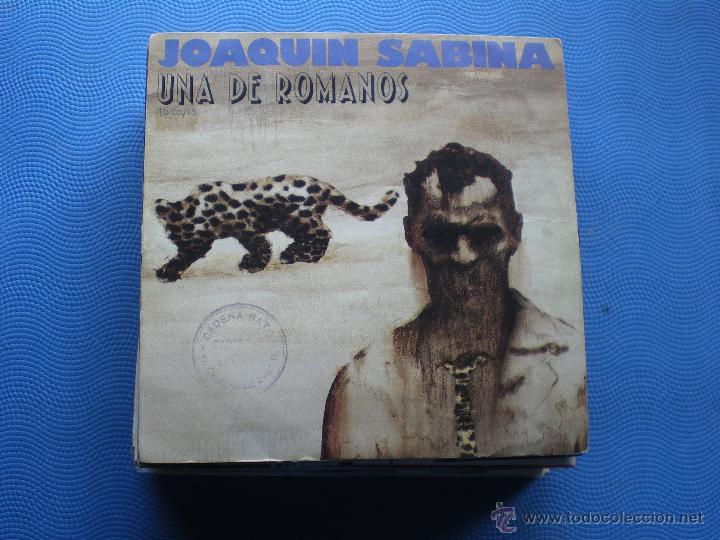 JOAQUIN SABINA UNA DE ROMANOS SINGLE SPAIN 1988 PDELUXE (Música - Discos - Singles Vinilo - Cantautores Españoles)