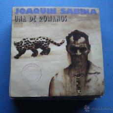 Discos de vinilo: JOAQUIN SABINA UNA DE ROMANOS SINGLE SPAIN 1988 PDELUXE. Lote 50064296