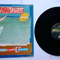 Discos de vinilo: DIRE STRAITS - TWISTING BY THE POOL / TWO YOUNG LOVERS / IF I HAD YOU (MAXI 1983). Lote 50064517