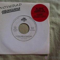 Discos de vinilo: 7 SINGLE-EL GRAN COMBO DE PUERTO RICO-CUPIDO-PROMO. Lote 50065328