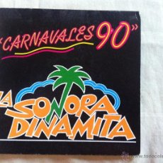 Dischi in vinile: 7 SINGLE-LA SONORA DINAMITA-CARNAVALES 90 MI CUCU. Lote 50065473