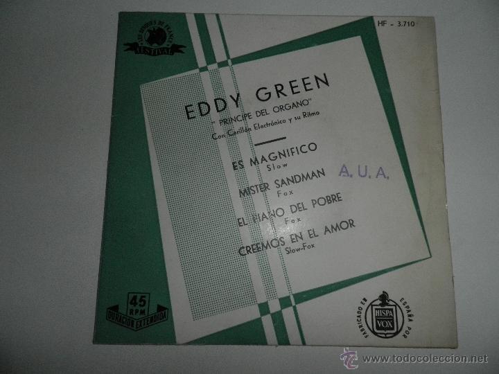 Discos de vinilo: LOTE DE 4 SINGLES , AÑOS 50 , EDDY GREEN,ANDRE KOSTELANETZ , SIDNEY BECCHET , ROBERTO INGLEZ - Foto 8 - 50068377
