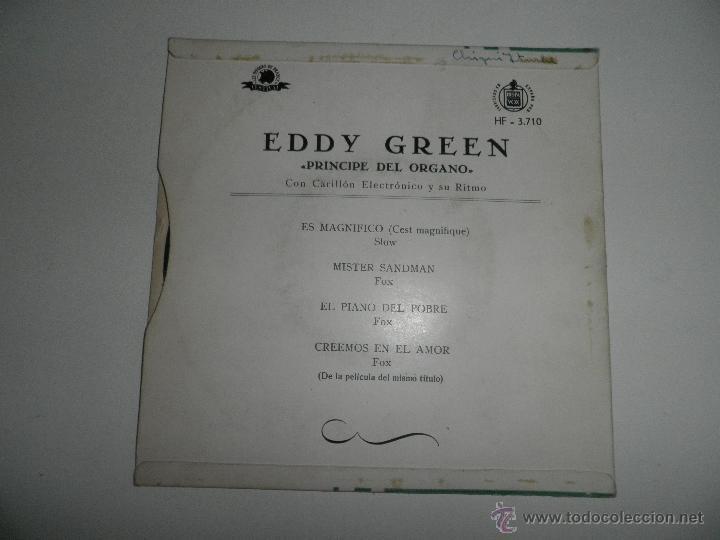Discos de vinilo: LOTE DE 4 SINGLES , AÑOS 50 , EDDY GREEN,ANDRE KOSTELANETZ , SIDNEY BECCHET , ROBERTO INGLEZ - Foto 9 - 50068377