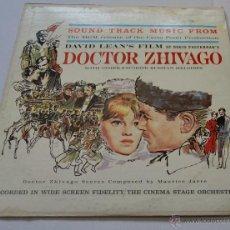 Discos de vinilo: DOCTOR ZHIVAGO - BANDA SONORA ORIGINAL (ED. USA). Lote 50068457