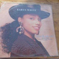 Discos de vinilo: KARYN WHITE SECRET RENDEZCOUS. EDICION INGLESA. MAXI 12 . Lote 50069611