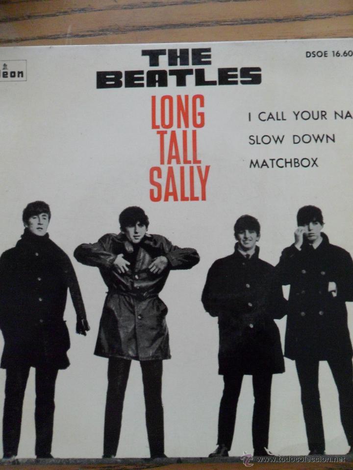 THE BEATLES. -LONG TALL SALLY. ODEON 1964. (Música - Discos de Vinilo - Maxi Singles - Pop - Rock Extranjero de los 50 y 60)