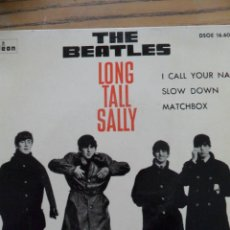 Discos de vinilo: THE BEATLES. -LONG TALL SALLY. ODEON 1964.. Lote 50070224