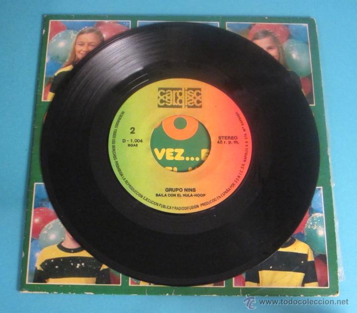 Discos de vinilo: GRUPO NINS. ERASE UNA VEZ...EL HOMBRE. BAILA CON EL HULA-HOOP - Foto 4 - 50071926