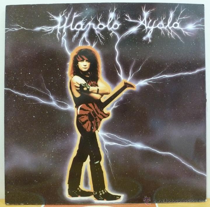 MANOLO AYALA (MAXISINGLE PROMOCIONAL GRAN SOL DISCOS 1990 SPAIN) (Música - Discos de Vinilo - Maxi Singles - Heavy - Metal)