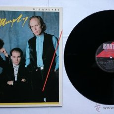 Discos de vinilo: ELLIOTT MURPHY - MILWAUKEE (1986). Lote 50081217