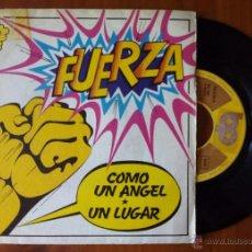 Discos de vinilo: FUERZA, COMO UN ANGEL (BP 1974) SINGLE ESPAÑA - LOS GATOS NEGROS. Lote 50082816