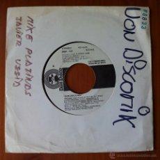 Discos de vinil: MIKE PLATINAS & JAVIER USSIA, DON DISCO MIX (DON DISCO 1986) SINGLE PROMOCIONAL. Lote 50083637