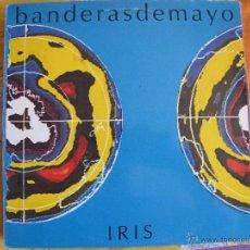Discos de vinilo: LP - BANDERAS DE MAYO - IRIS (SPAIN, INDIE RECORDS 1992, CONTIENE INSERT). Lote 50083922