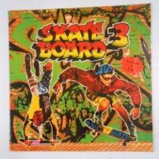 Discos de vinilo: SKATE BOARD 3. DOBLE LP. TDKDA14. Lote 50086780