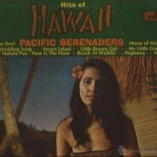 Discos de vinilo: LP-PACIFIC SERENADERS HITS OF HAWAII STEREO GOLD AWARD 310 UK 1970 EXOTICA. Lote 50088536