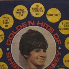 Discos de vinilo: LP-SHIRLEY BASSEY GOLDEN HITS EMI COLUMBIA 6294 UK 196?? GOLDFINGER 007. Lote 50088664