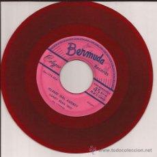 Discos de vinilo: SINGLE-SIDNEY BEAN TRIO BERMUDA 175-JAMAICA 195??-VINILO ROJO-CALYPSO. Lote 50088843