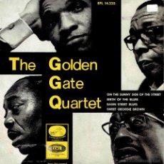 Discos de vinilo: THE GOLDEN GATE QUARTET ON THE SUNNY SIDE OF THE STREET + 3 RARO EP EMI SPAIN 1966 . Lote 50092629
